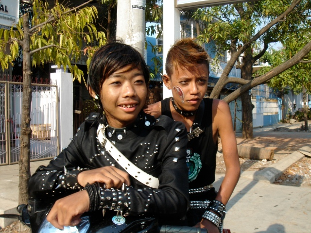 Punk's not dead .. Myanmar youth culture in Mandalay.