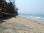 Marmakan Beach - beachfront restaurants.