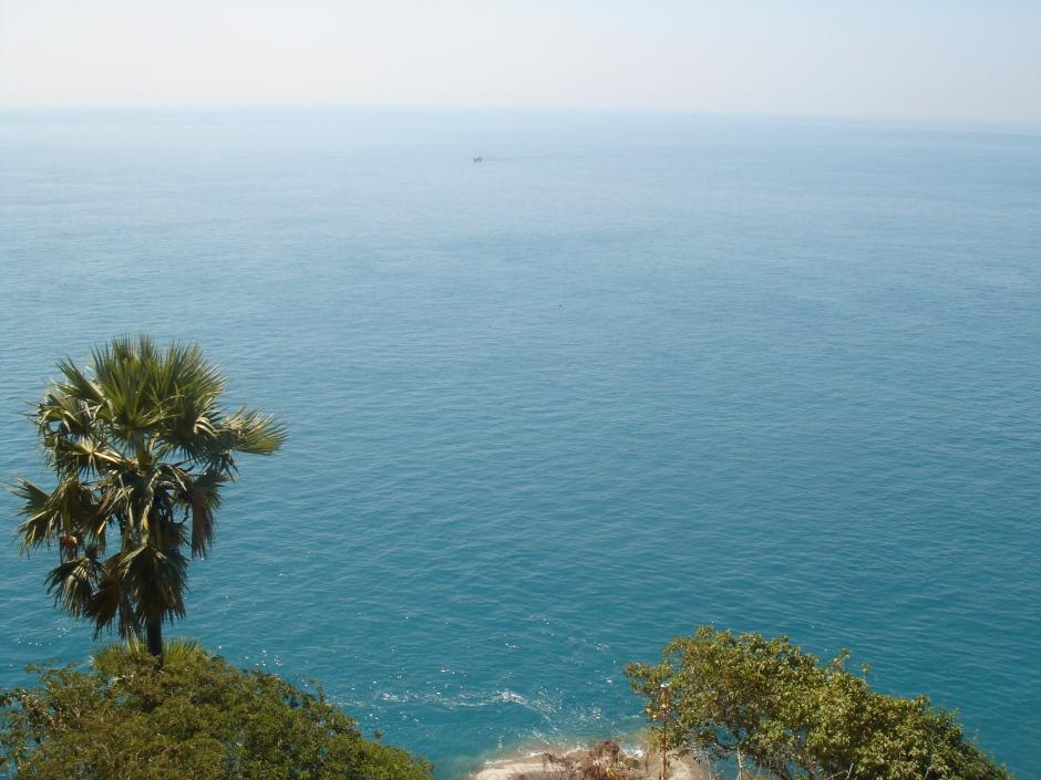 The Andaman Sea from Shin Maw Pagoda
