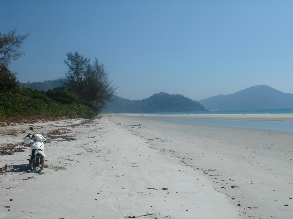 Amazing beach north of Nyaw Pyin - name unknown.