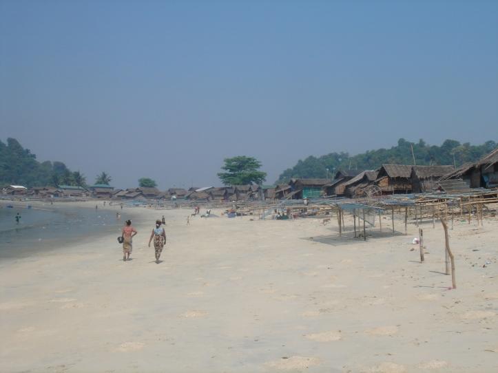 San Hlan fishing village.